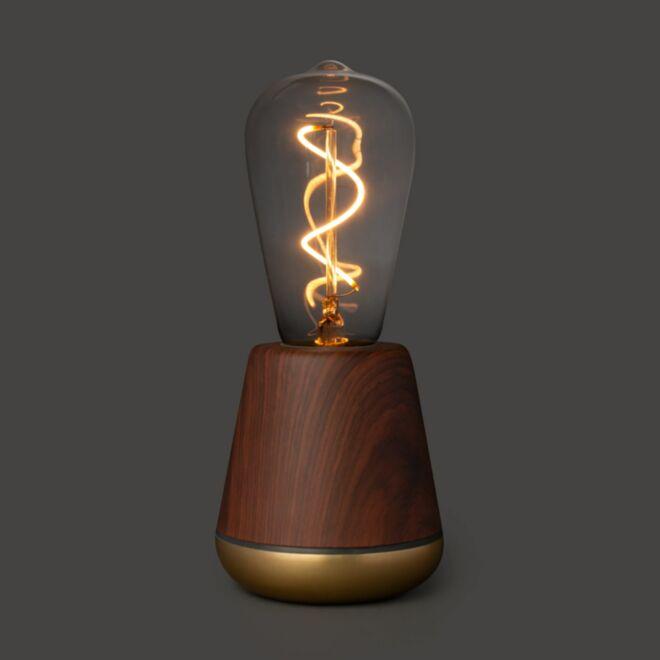 Humble tafellamp walnoot bruin
