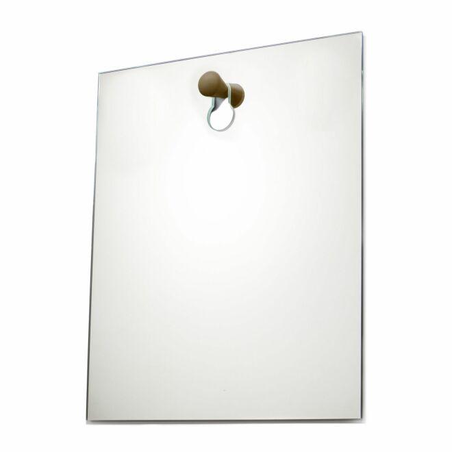 Knobble spiegel Goods bruin klein