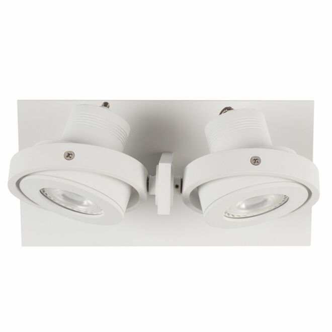 Luci LED spot Zuiver dubbel - wit