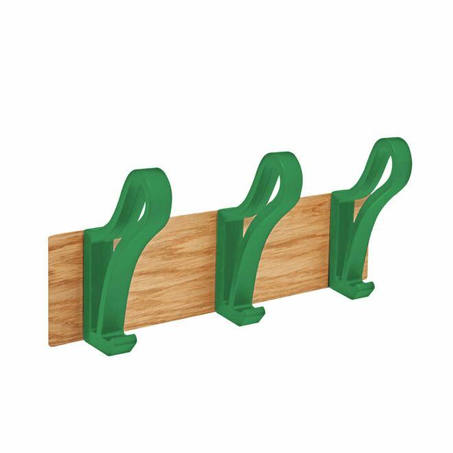 Luup Tre wandkapstok Pieper Concept groen