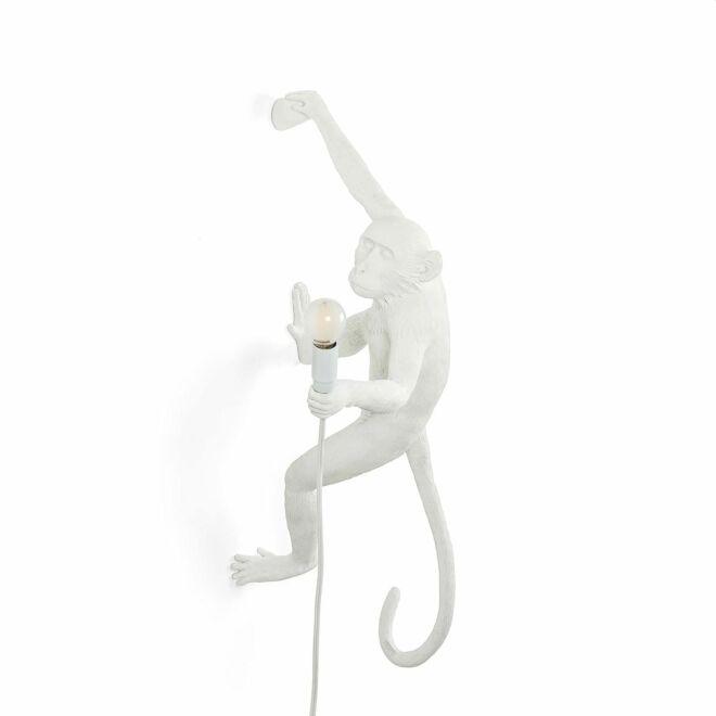 Monkey Outdoor wandlamp Seletti rechts wit