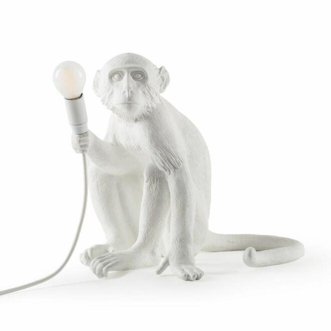 Monkey tafellamp Seletti wit
