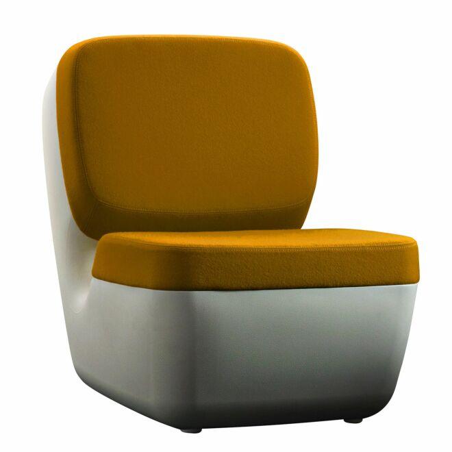 Nimrod fauteuil Magis geel