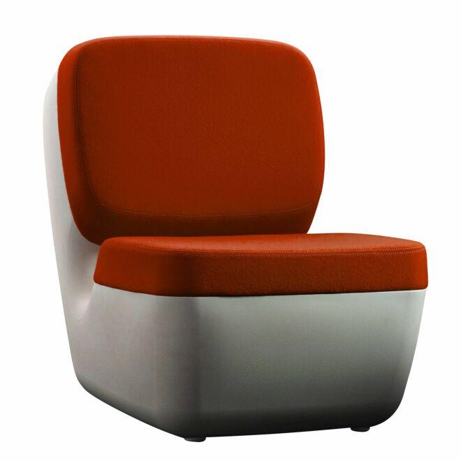 Nimrod fauteuil Magis oranje