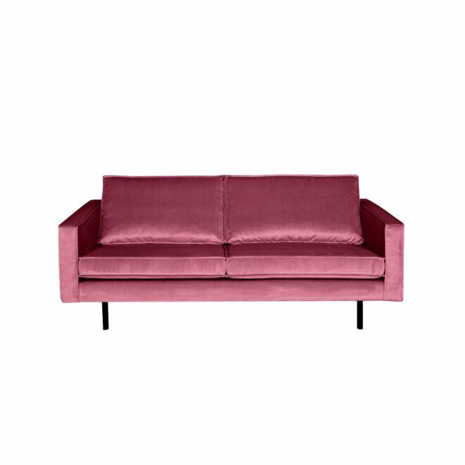 Rodeo bank BePureHome 2,5-zits velvet roze