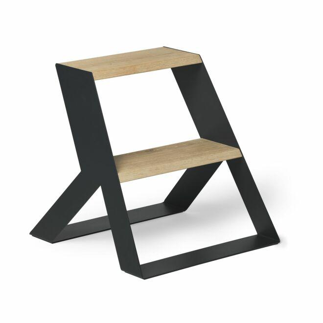 Split Step Wood keukentrap Frederik Roijé - donkergrijs