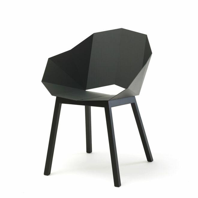 Seatshell eetkamerstoel Frederik Roijé donkergrijs