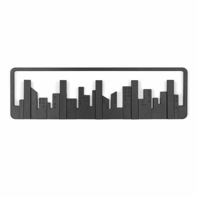 Skyline wandkapstok Umbra antraciet