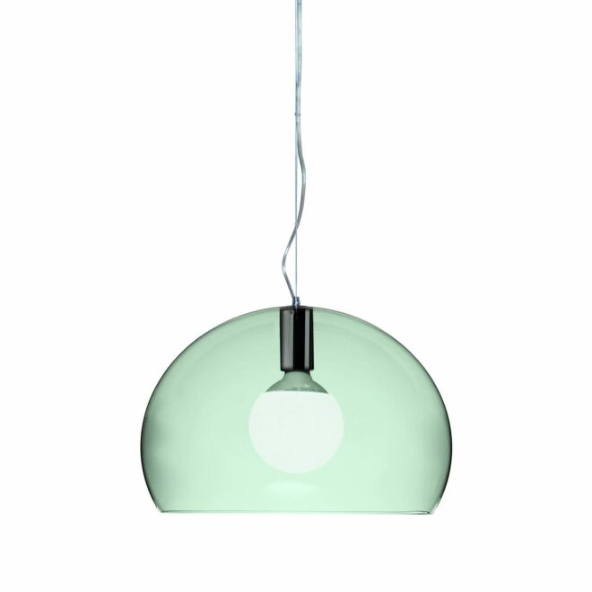 Small FL/Y hanglamp Kartell lichtgroen - VERHUIS SALE