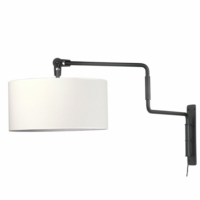 Swivel wandlamp Functionals zwart-wit