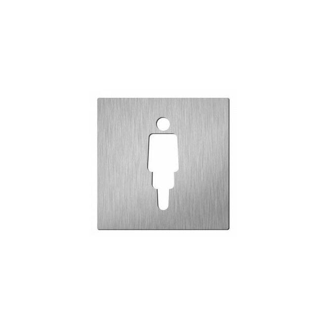 Vrouw pictogram Hardbrass
