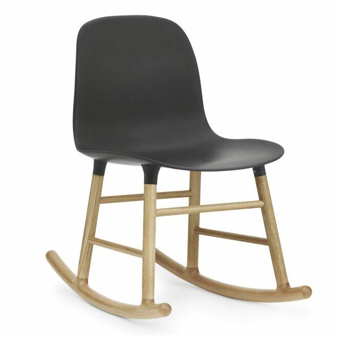 Form Rocking fauteuil Normann Copenhagen eiken zwart