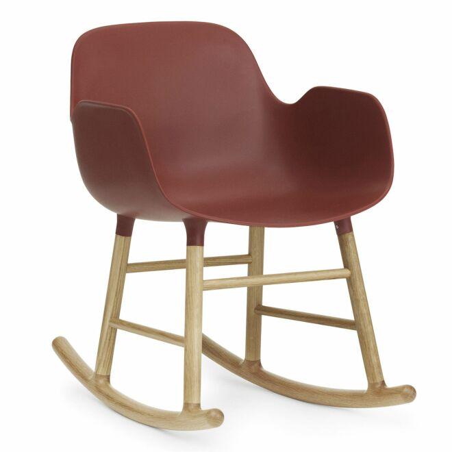 Form Rocking fauteuil Normann Copenhagen armleuning eiken