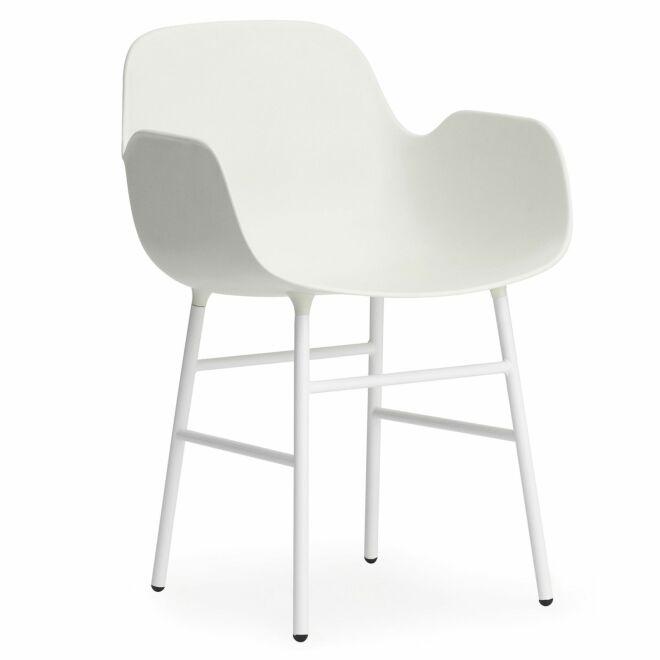 Form Armchair stoel Normann Copenhagen wit