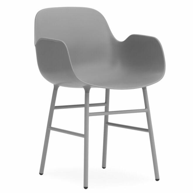 Form Armchair stoel Normann Copenhagen grijs