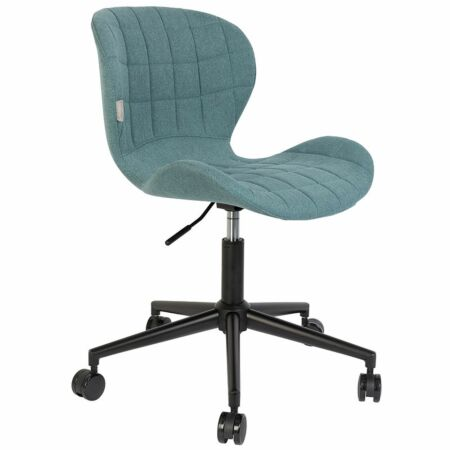 OMG bureaustoel Zuiver blauw