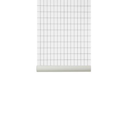 Grid behang Ferm Living - Off White