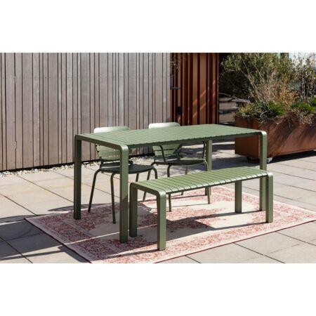 Vondel tuintafel Zuiver - Groen 168x87cm