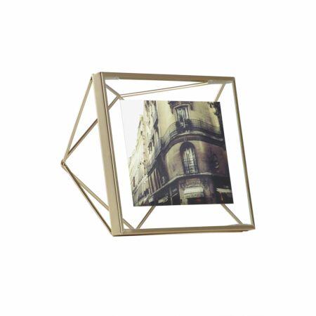 Prisma fotolijst Umbra 15x15cm mat messing