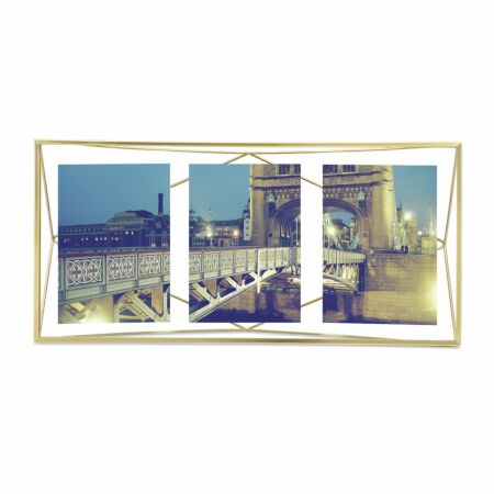 Prisma fotolijst Umbra multi mat messing