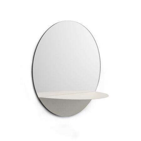 Horizon spiegel Normann Copenhagen rond - wit
