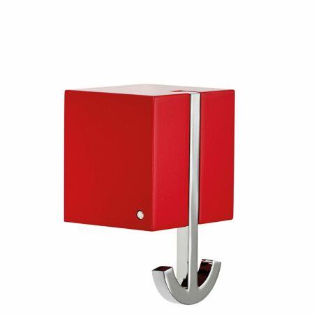 Ancora wandkapstok Pieper Concept rood