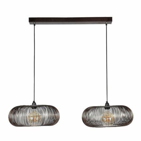 Disky hanglamp Kay 2 x Ø43cm