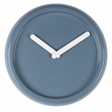 Ceramic Time klok Zuiver blauw