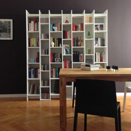 Expand boekenkast Woood wit