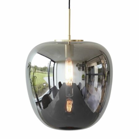 Blaze hanglamp Hübsch Ø30 gespiegeld