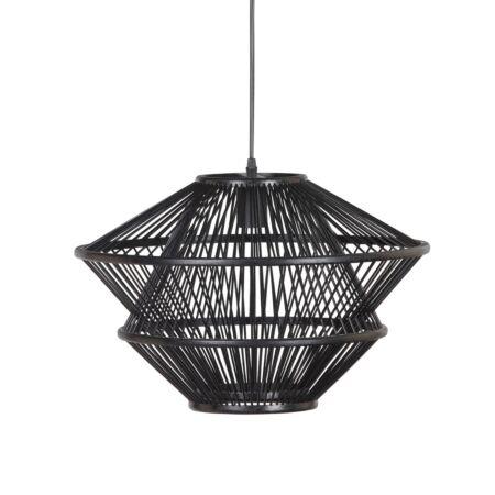 Bamboo hanglamp BePureHome - zwart