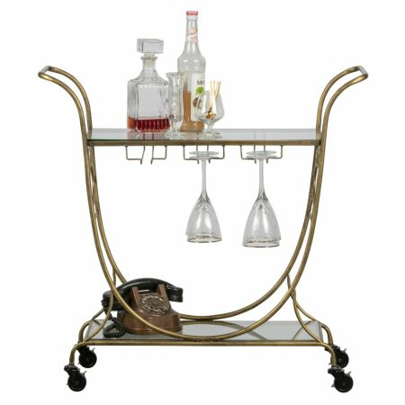 Decadent trolley BePureHome goud