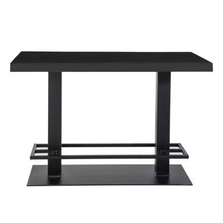 Countertafel Eleonora 140x80 - zwart