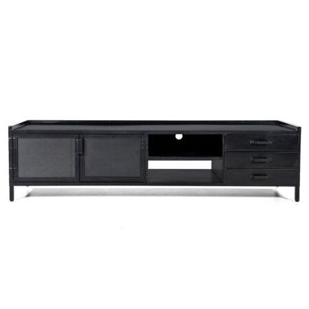 Industrieel TV meubel Eleonora - 2 deurs