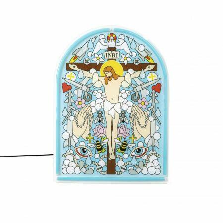 Gospel LED Neon wandlamp Seletti Jesus
