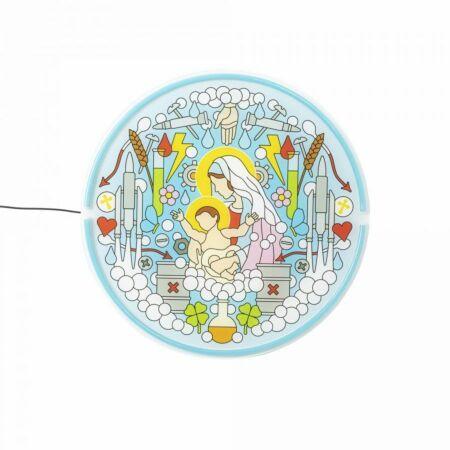 Gospel LED Neon wandlamp Seletti Virgin Mary