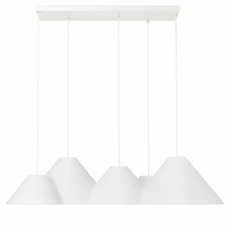 Lampscapes 5 Peaks hanglamp Roijé wit deluxe