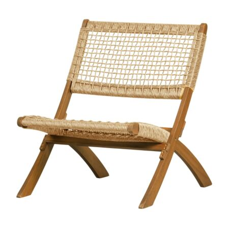 Lois fauteuil Woood - naturel