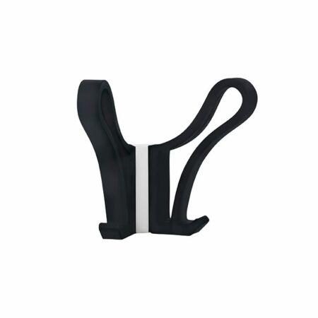 Luup Doppio wandkapstok Pieper Concept zwart