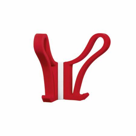 Luup Doppio wandkapstok Pieper Concept rood