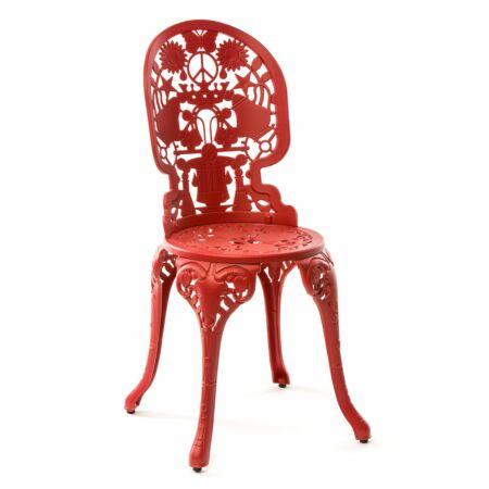 Industry stoel Seletti rood