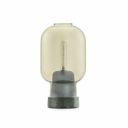 Amp tafellamp Normann Copenhagen goud groen