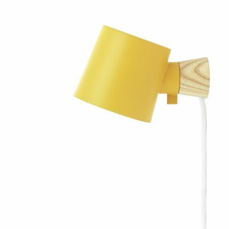 Rise wandlamp Normann Copenhagen geel