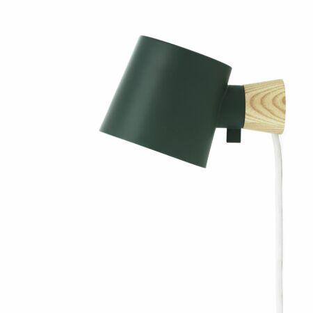 Rise wandlamp Normann Copenhagen groen