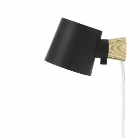 Rise wandlamp Normann Copenhagen zwart