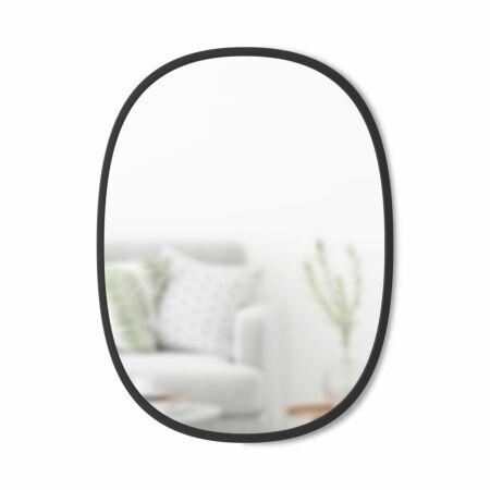 Hub spiegel Umbra zwart 46x61