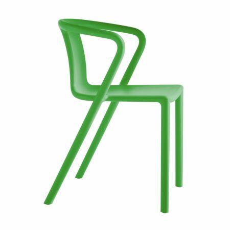 Air eetkamerstoel Magis armleuning groen