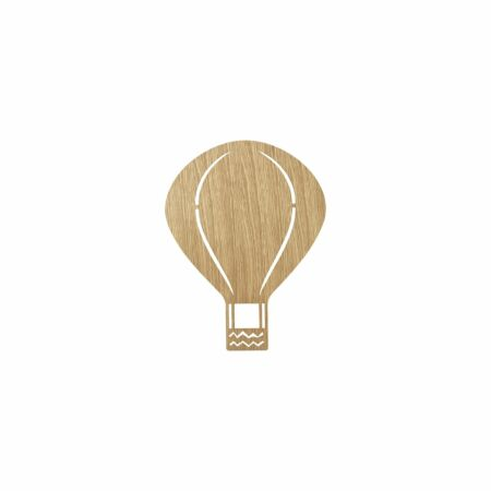 Air Balloon wandlamp Ferm Living oiled oak