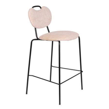 Aspen counterstoel Luzo - Licht roze