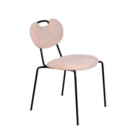 Aspen eetkamerstoel Luzo - Licht roze
